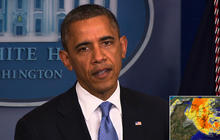 Obama on Hurricane Sandy: Please listen to state and local officials