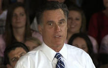 Sandy causes schedule shuffling for Romney