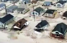 Seaside Heights, N.J., devastated by Sandy