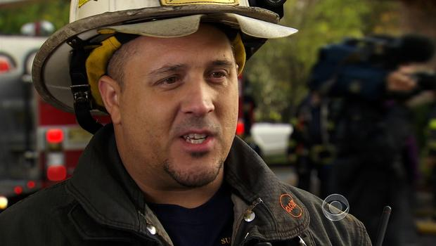 Frank Rich is an assistant fire chief in Moonachie, N.J., which was flooded terribly during superstorm Sandy.