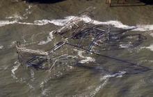 New Jersey shoreline devastated by Superstorm Sandy