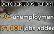 October jobs report: Unemployment at 7.9 percent