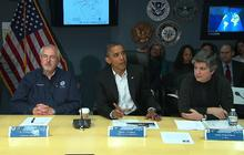 "Obama on Sandy: We will put ""120 percent"" toward recovery"