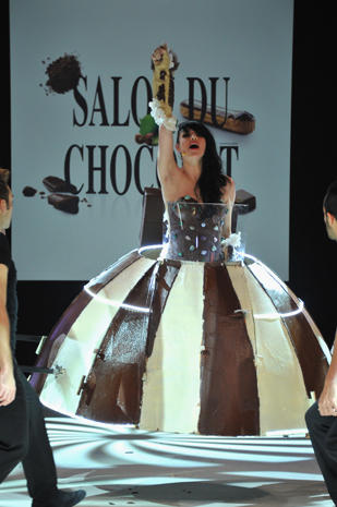 Clothes made out of chocolate