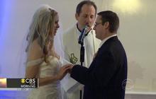 "Couple vows to say ""I do"" despite Sandy"