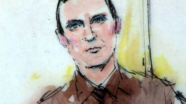 Jared Lee Loughner is seen in federal court in Tucson, Ariz., Nov. 8, 2012, in this sketch by Bill Robles.