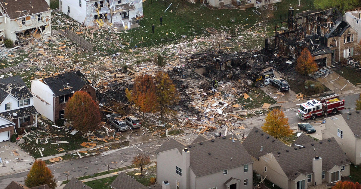 Indiana Gas Tax >> Homicide charges in Ind. house explosion - CBS News