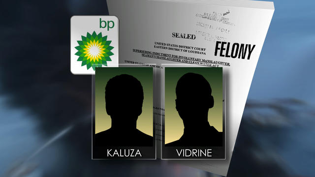 BP employees charged with manslaughter