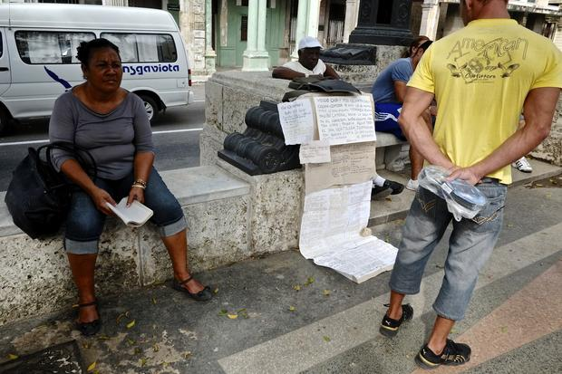 Street markets of Cuba