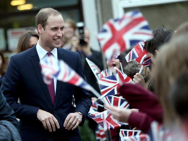 Prince William and Kate in Cambridge