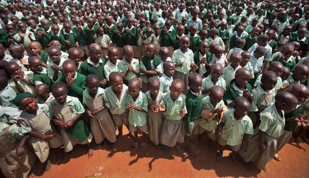 Kenya village for kids who lost parents to AIDS