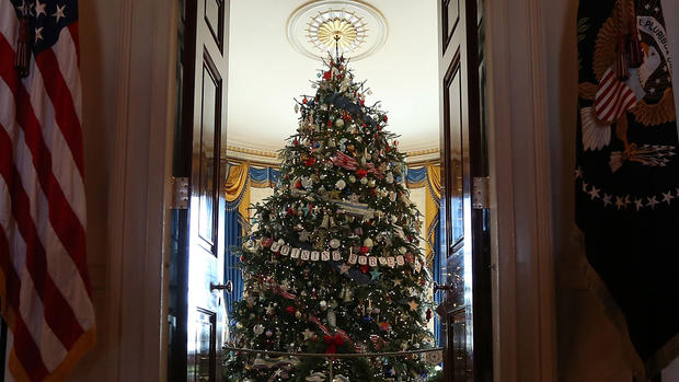 2012 White House Christmas decorations