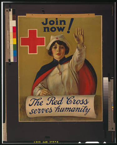 Vintage World War I posters