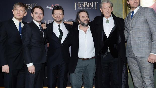 """The Hobbit"" premieres in New York"