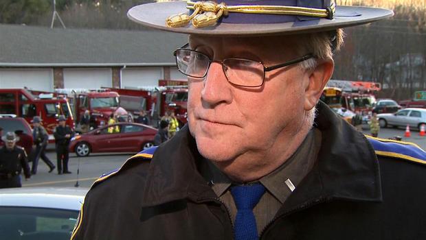 """Conn. State Police Lt. on """"horrific scene"""" of school shooting"""