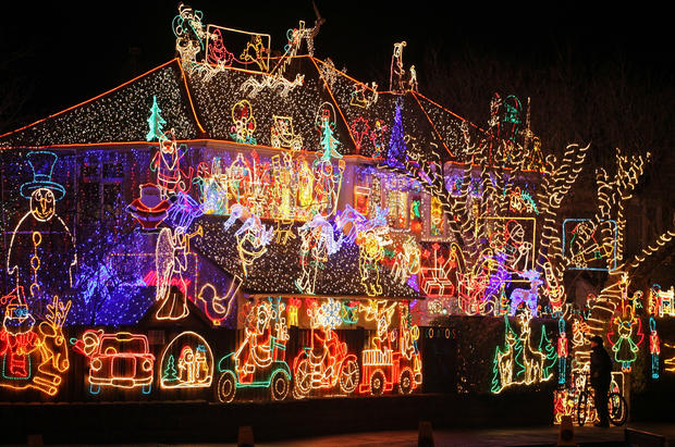 Stunning Christmas Lights Photo 1 Pictures Cbs News