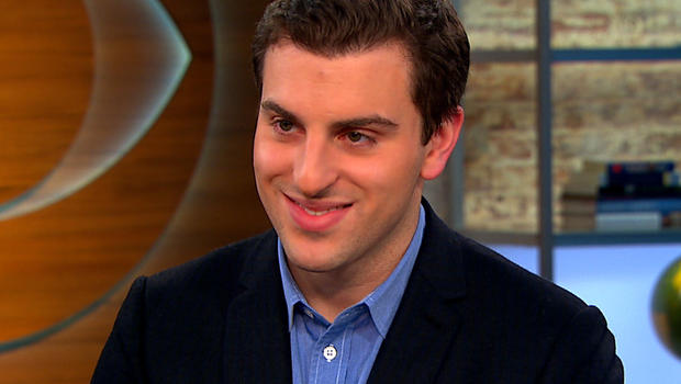 """Brian Chesky on """"CBS This Morning."""""""
