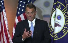 "Boehner: Dems' ""Plan B"" is ""slow walk"" over ""fiscal cliff"""