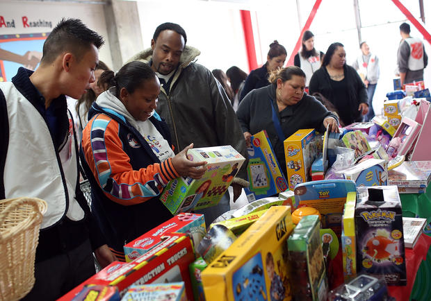 Salvation Army supplies toys to needy