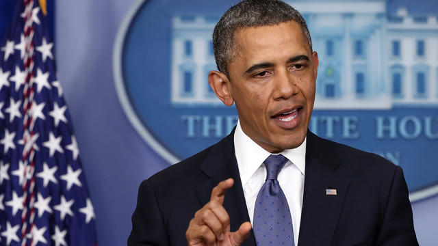 "Obama ""modestly optimistic"" on ""fiscal cliff"" deal"