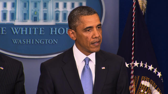 """Obama on """"fiscal cliff"""" deal: good first step"""