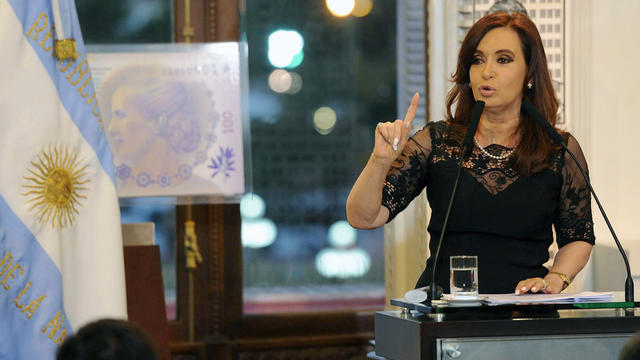 Argentina, Cristina Fernandez de Kirchner