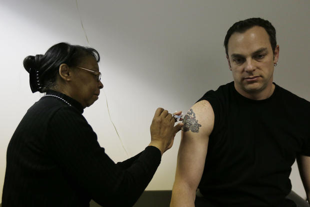 Widespread flu found in 48 states