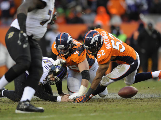 2013 NFL Postseason: Divisional Playoffs