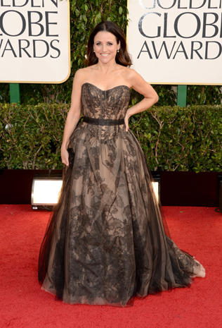 Golden Globes 2013 red carpet