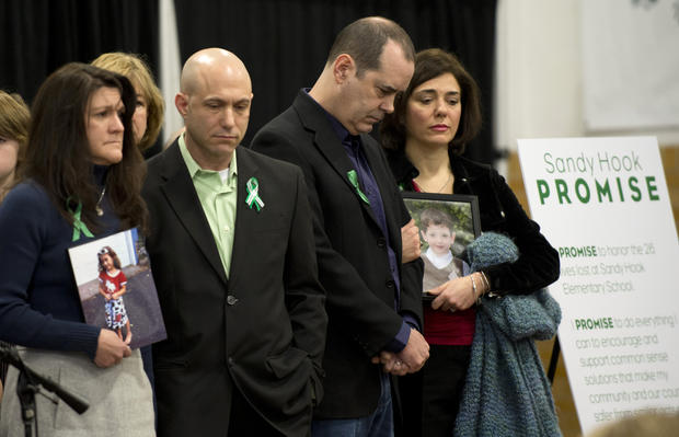 Sandy Hook shooting: One month later
