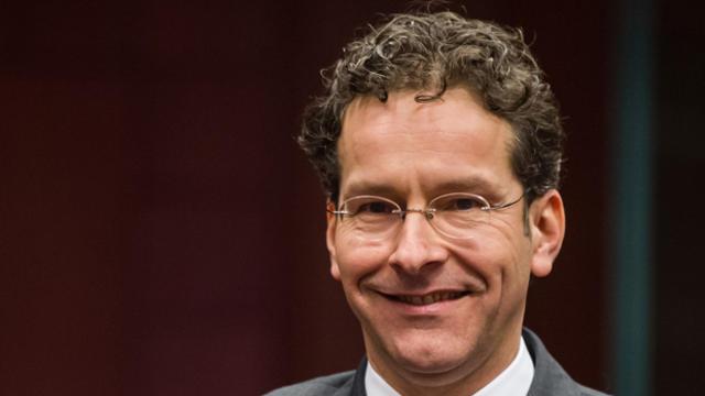 Jeroen Dijsselbloem, the new head of the European Union's group of finance ministers, smiles on Jan. 21, 2013, in Brussels.