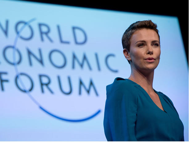 Notable figures at Davos
