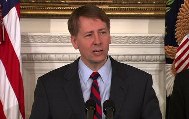 "Cordray: ""Open minds, open ears"" in Consumer Financial Protection Bureau"