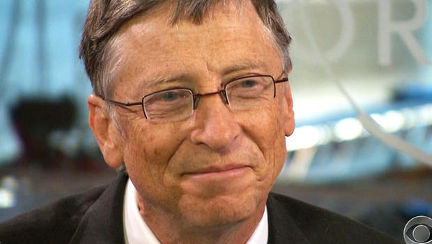 Bill Gates spoke with CBS News' Anthony Mason in Davos.