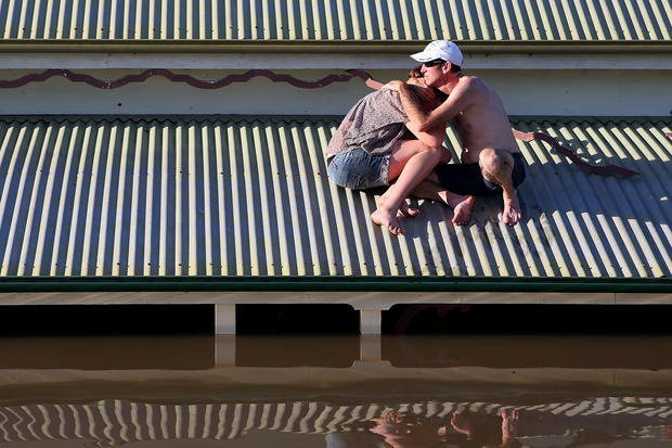 Severe flooding hits Australia