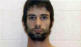 """This photo provided by the Erath County Sheriff»??s Office shows Eddie Ray Routh. He was charged with murder in connection with a shooting at a central Texas gun range that killed former Navy SEAL and """"American Sniper"""" author Chris Kyle and Chad Littlefield, the Texas Department of Public Safety said Sunday, Feb. 3, 2013."""