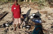 Tsunami wrecks Solomon Island towns
