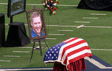 Ex-Navy SEAL laid to rest