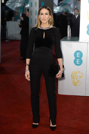 BAFTA 2013 red carpet