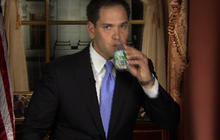 "Marco Rubio's ""water bottle-gate"" moment"