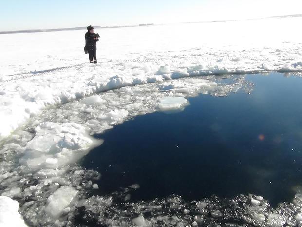 Russia Metoer Crater Lake