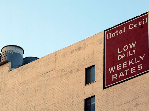 Official: Woman accidentally drowned in LA hotel water tank