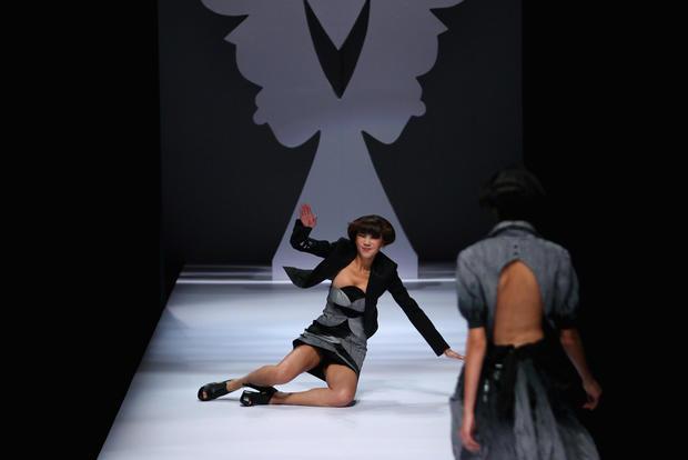 Epic model falls