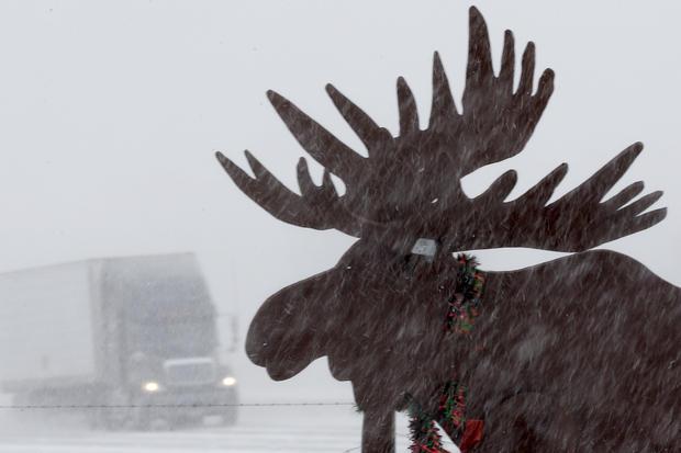 February snowstorms slam U.S.