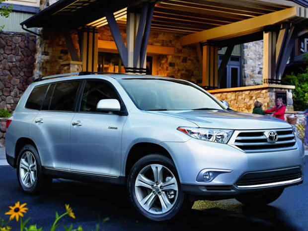 Top 10 cars, vans and SUVs of 2013