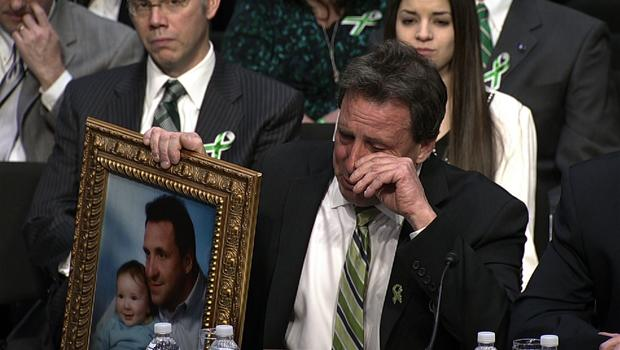 """Sandy Hook father: """"I'm not here for the sympathy"""""""