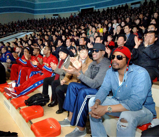 Dennis Rodman travels to North Korea