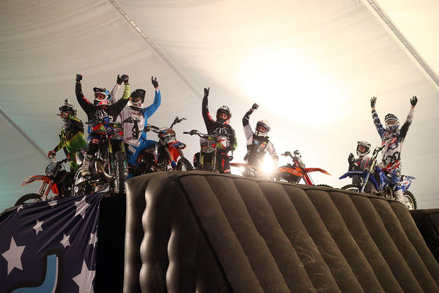Team Nitro Circus breaks Guinness World Record