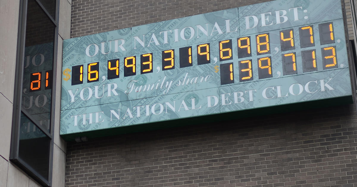 Under Trump's watch, national debt tops $21 trillion for first time ever