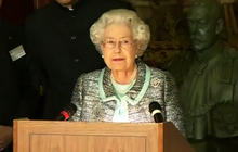 Queen makes first appearance since hospital stay